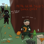 Metal Gear Solid 3: Snack Eater! by UnlimitedShadeWorks