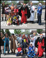 FF8 Cosplay Group - Fujin by Nephrae