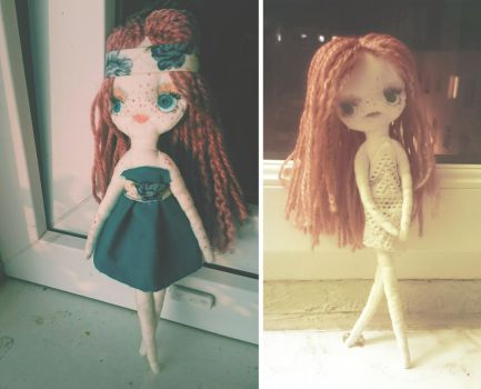 Teal Doll by Xperionity