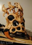 Spider Queeen WIP 2 by Epic-Leather