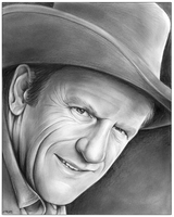 Gunsmoke's Matt Dillon by gregchapin