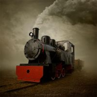Steel wheels II by Alshain4