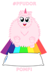 Fluffle Puff PFUDOR Decal - POMF Version by Uityyy