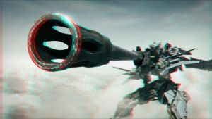 Big Big Gun 3-D conversion by MVRamsey