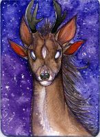 Deer monster by Suane
