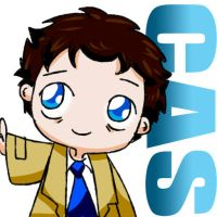 Kiriban Prize 2 Part 2 of 2: Castiel icon by KamiDiox
