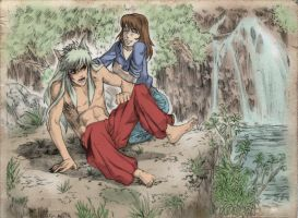 InuYasha and Jesse commission by M-Skirvin