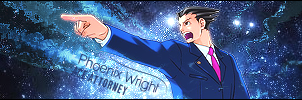 Phoenix Wright - Signature by phoeArt
