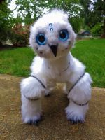 Posable Owl Guardian II by MagicMage-y