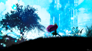 Child Of Light - fanart by Shamano79