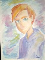 Ilustration Boy - Watercolors by amyrose7