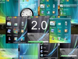 Vista Ultimate 2.0 for S40v3 by duckdany
