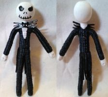 Worry Doll Prize - Jack Skellington by mihijime