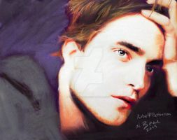 Robert Pattinson by sketchychick