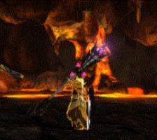 Not now, brachydios... (Brachydios GIF) by alexmonster12
