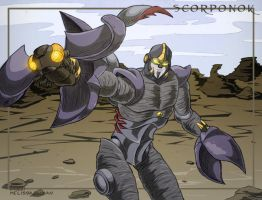 Scorponok launches a 'bee by WaywardInsecticon
