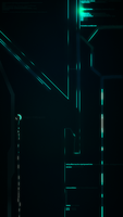 Tron iPhone Legacy 2 by HingjonWallpapers