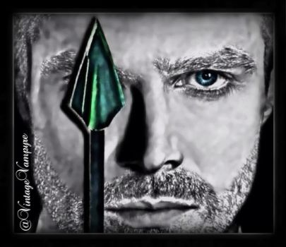 Oliver Queen/Arrow by CloVerThePirate