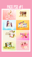 PackPSD#1 - My First Wallpapers by SeoLiliHyun