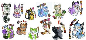 Badges 2nd batch by BungleChiv