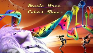 Free music free colors by FABRI66