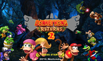 Donkey Kong Returns 2 Title Screen by crazychristian28