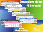 Sustenance Weather Color Pack by TNBrat