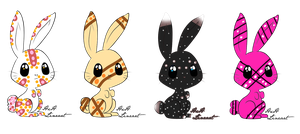 bunny adopts! by flamelover1