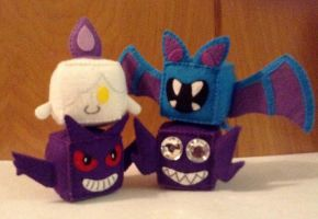 Spooky Scary Pokecubes by beanchan