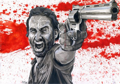 Rick Grimes by miguelzuppo