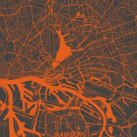 Hamburg by MapMapMaps