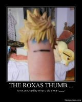 Roxas thumb motivational poster by Miss-Sweetlivvy