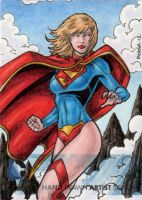 DC Comics 'The New 52' - Supergirl by tonyperna