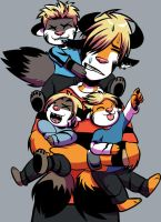 Too Many Kittens by angieness