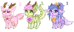 floralic adoptables (200 points) by ssnowdrop