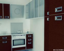 kitchen interior 3 by K1BORG