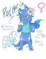 Floraverse Pulchria (Colored) by KawaiiManaphy
