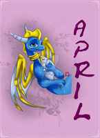 april the dragon by Minerea