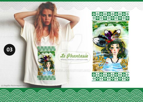 Le Phantasie, Illustration Tshirt 03 by Eijiel