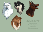 Lovely breeds by Frodse
