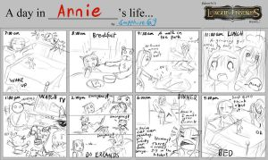 A day in Annie's life by Sapphire69