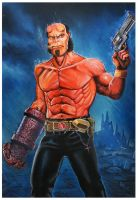 Hellboy The Right Hand of doom by Chrisroma