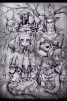 Alice in Dark Wonderland. by LilyChaoS
