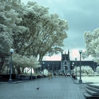 Infrared Cathedral by La-Vita-a-Bella