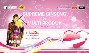 Backdrop Ginseng Exhibition by agungbbk