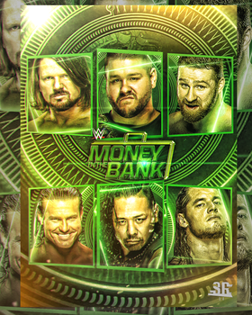 WWE Money in the Bank 2017 Poster by WWESlashrocker54