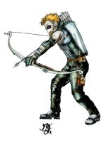oliver queen v5 by zeruch