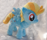 Lightning Dust plush by PinkuArt