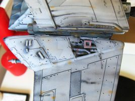 1/48 Resin B-Wing by stararts2000
