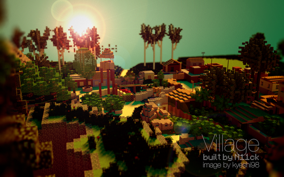 Village - MW3 Map Minecraft Remake - by N11ck by flamingpegasus